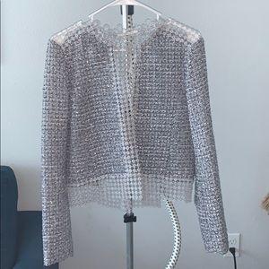 TAHARI Tweed Blazer